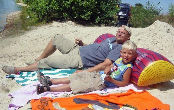Entspannen auf dem Strand