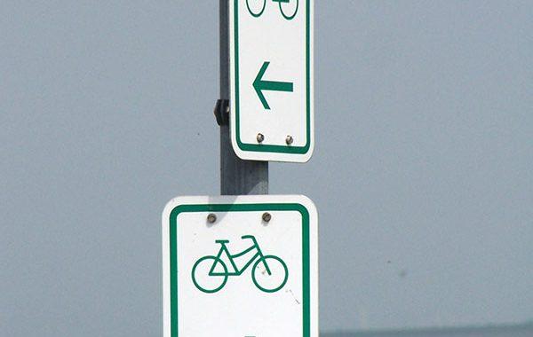 Ausgedehnte Radfahrwege